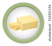 sliced margarine block. baking...