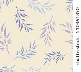 seamless vector background with ... | Shutterstock .eps vector #510361390