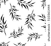 seamless vector background with ... | Shutterstock .eps vector #510361444