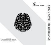 brain icon | Shutterstock .eps vector #510377659
