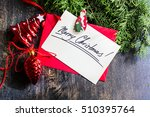 gift boxes and cards for... | Shutterstock . vector #510395764