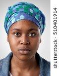 portrait of real black african... | Shutterstock . vector #510401914