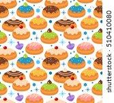 hanukkah jewish holiday... | Shutterstock .eps vector #510410080