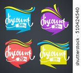 vector collection of bright...   Shutterstock .eps vector #510424540