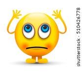 eyes rolling emoji | Shutterstock .eps vector #510426778