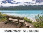 emerald lake | Shutterstock . vector #510430303