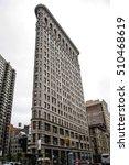 New York City Usa Skyline The...