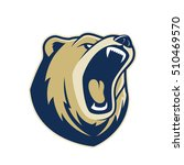 bear head mascot | Shutterstock .eps vector #510469570