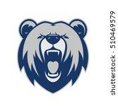 bear head mascot | Shutterstock .eps vector #510469579