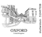Oxford  Uk  Hertford Bridge ...