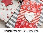 christmas gifts   Shutterstock . vector #510499498