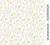seamless pattern with carrots.... | Shutterstock .eps vector #510504424