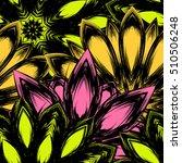 floral background. full... | Shutterstock .eps vector #510506248