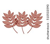 leaves of autumn season design | Shutterstock .eps vector #510533590