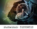 industrial design futuristic... | Shutterstock . vector #510538510