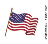 united states of america design | Shutterstock .eps vector #510544024