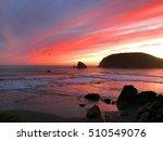 Oregon Ocean Sunset