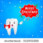 tooth with magic through a... | Shutterstock .eps vector #510553300