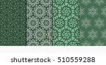 Set Of Seamless Vector Pattern...
