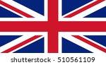 official vector flag of united... | Shutterstock .eps vector #510561109