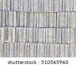 gray concrete block wall... | Shutterstock . vector #510565960