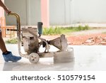 the craftsmen are polishing the ... | Shutterstock . vector #510579154