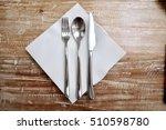 utensils on the dining table | Shutterstock . vector #510598780