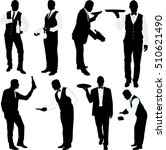 Waiters Silhouettes  Collectio...