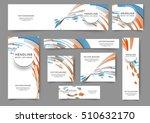 set of web banner templates for ...   Shutterstock .eps vector #510632170