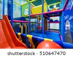 modern children playground... | Shutterstock . vector #510647470