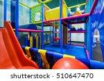 modern children playground... | Shutterstock . vector #510647470