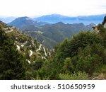 passo dello tremalzo near lake... | Shutterstock . vector #510650959
