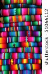 colorful blankets from guatemala | Shutterstock . vector #51066112