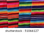 Colorful Blankets From Mexico
