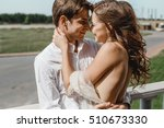 beautiful couple married couple | Shutterstock . vector #510673330