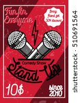 Color Vintage Stand Up Comedy...