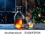 close up view  of glass  with... | Shutterstock . vector #510693934