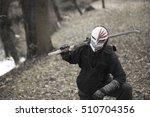masked assassin | Shutterstock . vector #510704356