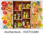 rethymnon  island crete  greece ... | Shutterstock . vector #510721684