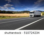 truck on the road | Shutterstock . vector #510724234