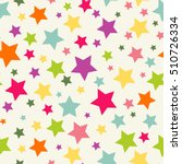 seamless pattern with stars....   Shutterstock .eps vector #510726334