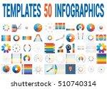 50 vector templates for... | Shutterstock .eps vector #510740314