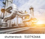 refinery oil and gas industry | Shutterstock . vector #510742666