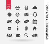 web icons set isolated on white ...