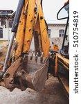 construction heavy equipment... | Shutterstock . vector #510754819