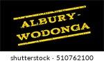 albury wodonga watermark stamp. ... | Shutterstock .eps vector #510762100
