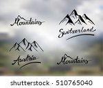 mountains  austria and...   Shutterstock .eps vector #510765040