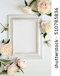 wedding invitation or bridal... | Shutterstock . vector #510785836