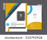 business brochure flyer design... | Shutterstock .eps vector #510792928