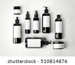 Set Of Black Beauty Cosmetic...